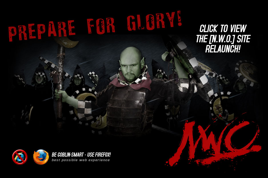 Prepare for glory! [NWO]